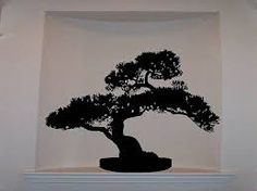 Maybe a bonsai tree like this.