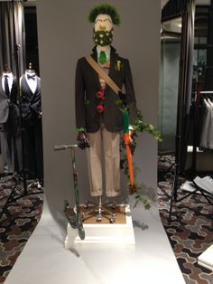 Hackett London have opened their windows to the LCF students allowing them to showcase their many talents and skills – a testament to the knowledge and expertise they've gained through their studies.