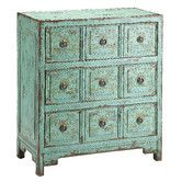 Found it at Wayfair - Hand Painted Apothecary 9 Drawer Chest