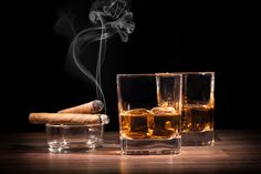 JR Cigars is the world's largest cigar store and the best place to buy premium cigars online. Browse JR Cigars for exclusive daily deals and the best prices. Whiskey Shots, Good Whiskey, Cigars And Whiskey, Whiskey Drinks, Cigar Bar, Cigar Boxes, Whisky Bar, Good Cigars, Perfect Glass