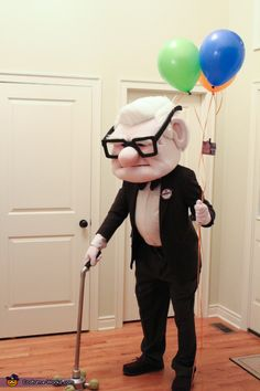 Carl Fredricksen from Disney / Pixar's UP - Halloween Costume Contest via @costume_works