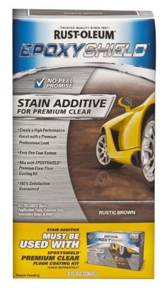 Rust-Oleum Corporation 264001 Stain Additive for Premium Clear Kit, Rustic Brown Rust-Oleum http://www.amazon.com/dp/B00AM17PH8/ref=cm_sw_r_pi_dp_ka3tvb0GFK1KR