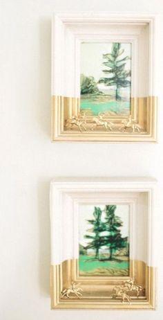 25 Unique DIY Wall Art Ideas (With Printables) Repurposed Furniture Art DIY ideas Printables Unique wall Art Diy, Diy Wall Art, Wall Decor, Decorating Small Spaces, Decorating Ideas, Decor Ideas, Art Ideas, Decorating Frames, Interior Decorating