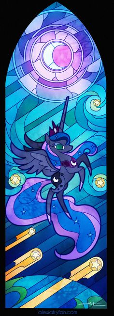 MLP: Luna Glass Window