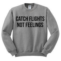Catch+Flights+Not+Feelings+Oversized+Sweater+gray