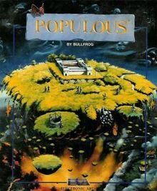 Populous Computer Game - (1989) -  #classicpcgaming #retrogaming #oldschool
