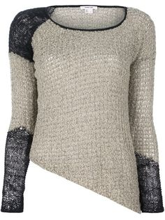 HELMUT LANG - Textured knit sweater