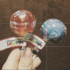 #lollipops #orange #cottoncandy #candy  ついつい買ってしまった by tanaharu0430