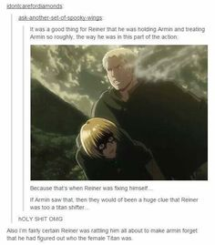 Attack on Titan JESUS I DIDNT REALIZE THIS