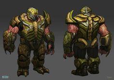 bluedogeyes: XCOM: Enemy Unknown concept art... | GamesNEXT