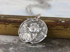124.00 Antique Wax, Antique Roses, Anniversary Jewelry, Wedding Anniversary, Artisan Jewelry, Handmade Jewelry, Tudor Rose, Grey Roses, Rose Necklace