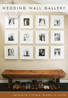 If you're designing a gallery wall in your home, hopefully this post will help you to get started and if you're not, these pictures are sure to inspire you to change your mind!