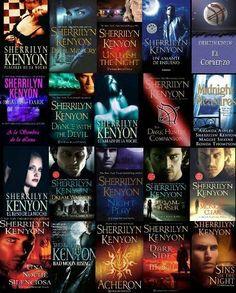 Fantasia romántica: Descargar Cazadores oscuros de Sherrilyn Kenyon