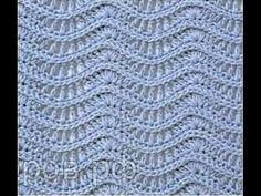 Узор волна крючком схема. Отличный узор для вязания платьев и кофточек Crochet Clothes, Crochet Stitches, Boutique, Blanket, Boho, Youtube, Fashion, Crochet Dresses, Bedspreads