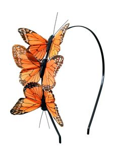 Butterfly Trio Headband - I see a DIY project in my near future.