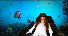"""AR/VR: """"Massage to go"""" - mit VR-Brille in die Entspannung ."""
