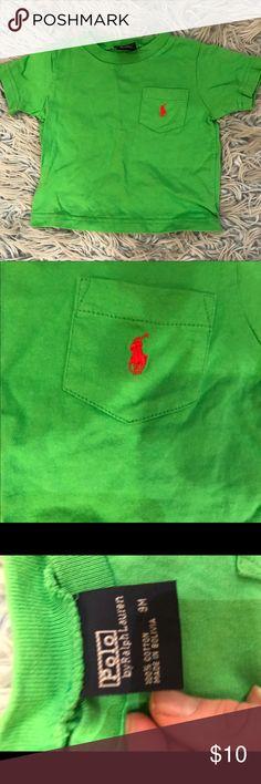 Ralph Lauren Crew Neck T-shirt Green Crew Neck t shit for baby. Perfect Condition 100% cotton Ralph Lauren Shirts & Tops Tees - Short Sleeve