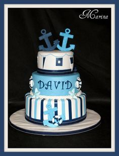 A cake done for my twin nephews by a really talented girl.  Check out her other creations.