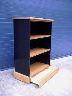 Bookcase with Secret Compartment