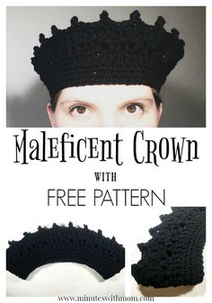 Maleficent Crown wit
