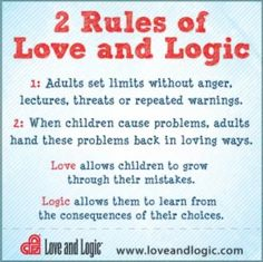 Indispensable Kid Rules Every Parent Should Follow Love  Logic