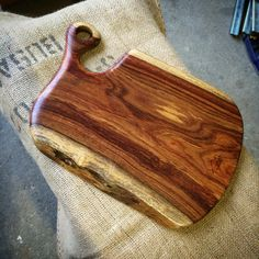 Rose wood cuttingboard