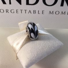 Pandora Swirl Murano Authentic and retired. Glass is in pristine condition. Bundle for discount! Pandora Jewelry Bracelets