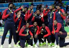 AP / Eric Gay  The U.S. Olympic men's basketball team ended up right where expected.