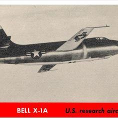 Bell X-1A  -  Jeff Sexton - Google+