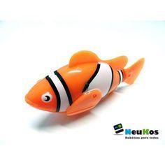 Neukos Minibot Piscis Naranja | Robot - Todo para el PC | Regálate lo mejor en tecnología