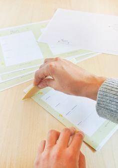 Agenda Imprimible y DIY de como encuadernar una libreta fácil y rápido | | Blog Planner free printable and easy book binding tutorial //  #e...
