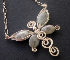 modern wire wrapped jewelry design ideas - Google Search
