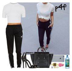 """""""Passion 4Fashion: """" by shygurl1 ❤ liked on Polyvore featuring Topshop, Shoe Cult, adidas and Eos"""