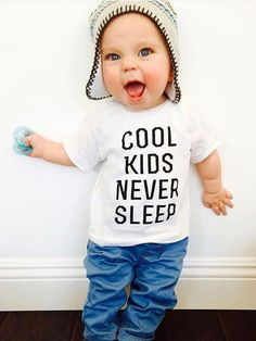 Funny kids shirts boys 64 ideas for 2019 Funny Kids Shirts, Baby Boy Shirts, Baby Boy Outfits, Toddler Outfits, Hipster Kids Clothes, Hipster Babies, Funny Clothes, Baby Boy Fashion, Fashion Kids