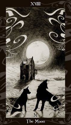 From the Harry Potter tarot deck by Ellygator @ Deviantart