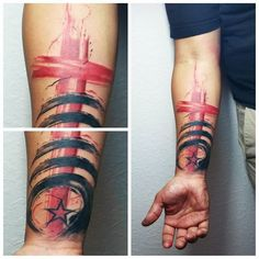 Image result for cross trash polka Skull Tattoos, Body Art Tattoos, Tribal Tattoos, Hand Tattoos, Sleeve Tattoos, Cool Tattoos, Tatoos, Trash Polka Tattoos, Tattoo Trash