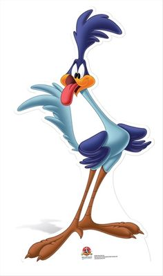 Road Runner Pappaufsteller / Standee / Standup - Things I love - Disney Looney Tunes Characters, Classic Cartoon Characters, Looney Tunes Cartoons, Favorite Cartoon Character, Classic Cartoons, Funny Cartoons, Cartoon Cartoon, Cartoon Kunst, Cartoon Drawings