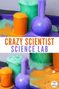 Witch's brew tutorial create a crazy scientist science lab Halloween Science experiment. witches brew is a potion of fun. halloweenscience halloween witchsbrew sciencelab via 564709240779701618 Kids Science Lab, Science Experiments For Preschoolers, Easy Science, Science Fair Projects, Preschool Science, Science Activities, Steam Activities, Science Ideas, Science Lessons
