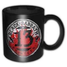 Black Sabbath Boxed Mug: 13 Flame Circle