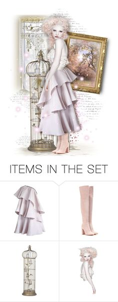 """""""🌸 Porcelain Pretty 🌸"""" by shay-h ❤ liked on Polyvore featuring art, doll, dolls, dollset, artexpression and dollart"""