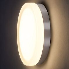"""Slice LED Flushmount/Wall Sconce by WAC Lighting at Lumens.com  $161 (small)  IN bronze?    Small Option Fixture: Height 2.5"""", Diameter 8.88"""" Large Option Fixture: Height 2.5"""", Diameter 11"""" Shade: Height 1.25"""""""