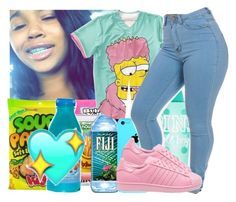 """""""OMG......THIS SET IS HAWT"""" by jjaylaspin ❤ liked on Polyvore featuring adidas"""