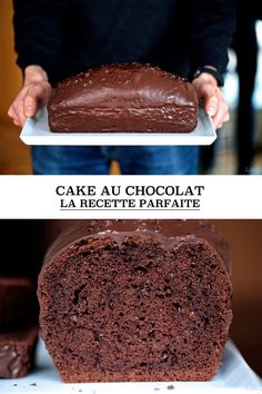 Cake au chocolat, la recette parfaite (et tous les secrets pour le moelleux) | Cuisine en Scène, le blog cuisine de Lucie Barthélémy - CotéMaison.fr