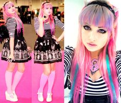 Rochelle Goyle - Monster High Cosplay - Roxie Sweetheart