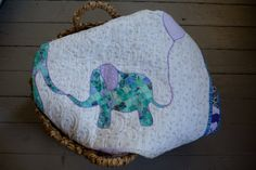 Personalized Modern Handmade Baby Quilt for by TheQuirkyQuiltr