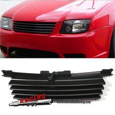 Parrillas Delanteras para Coche VW Jetta Bora MK4 1999-2004 Color Negro Mate -- 40,74€ Envío gratuito a toda España en todos los productos