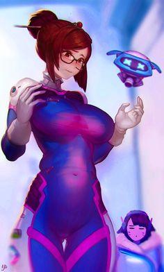 Mei (D.Va cosplay)