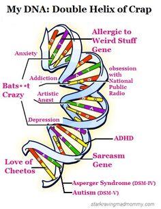 My DNA: Double Helix of Crap