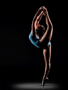 Photo by Richard Calmes ~I was looking at dance photos and found my girl!
