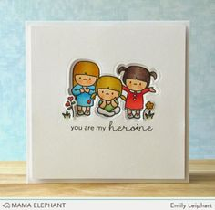 Art♥from♥the♥Heart: {Mama Elephant} Designer Series: In My Heart + Video!